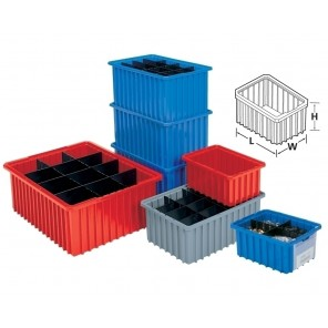 AKRO-GRID DIVIDERS & LABEL HOLDERS, Long Dividers, Fit Box No.: H33105, Ctn. Qty.: 6