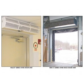 BERNER AIR CURTAINS, Series: Heavy Duty Industrial Air - 208/3 Voltage, Max Door Size W x H: 10' x 14', Motor HP: 1, No. of Motors: 3, Total Motor Amps: 19.5, Max. CFM@ Nozzle: 16632, Unit Size W x D x H: 120 x 18 x 15""