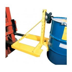"""EAGLE-GRIP™ 1 SERIES ATTACHMENTS, Cap. (lbs.): 1500, Size H x L x W: 35 x 34 x 38"""", Drums Handled: 1 or 2, Mount: Fork Mount, Belt Cradle: No, Non-Sparking Jaws: No"""