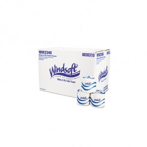 """Windsoft C-(660)Toilet Tissue, Facial Quality, 2-Ply, Windsoft 4.6 96/500's"""""""