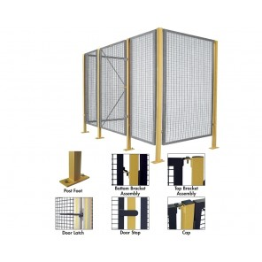 """BARRIERS, No. of Sides: 2, Size L x W x H: 16' x 16' x 68"""""""