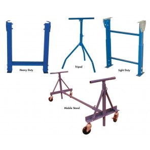 """CONVEYOR SUPPORTS, Adj. Height: 17 - 23"""", Support Type: Light Duty Permanent H-Type, Width: 12"""""""