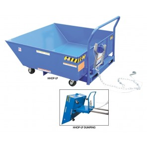 LOW PROFILE PARTS HOPPERS, Volume Cubic Yard: 42737, Cap. (lbs.): 2000